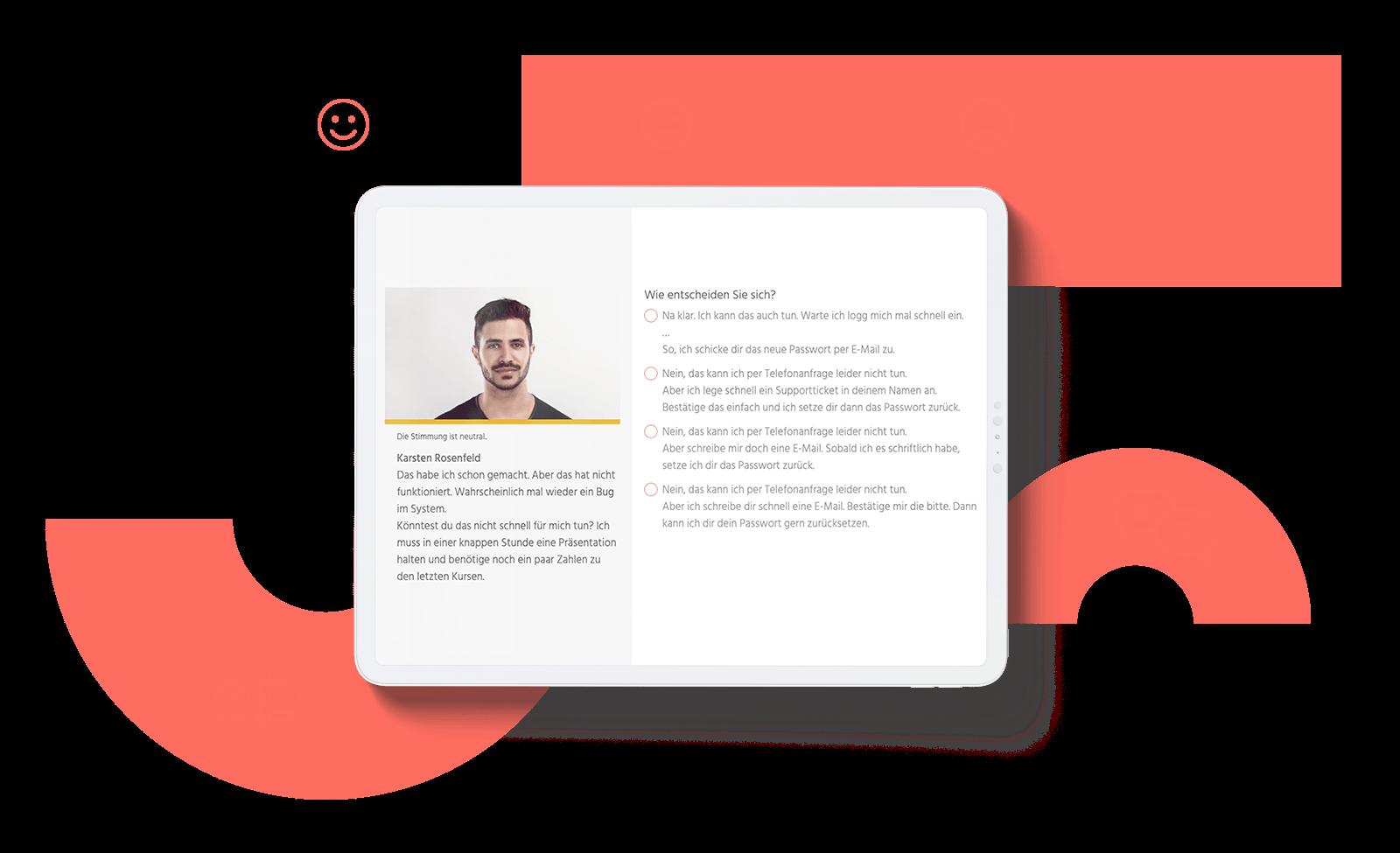 E-Learning Verhaltenstrainer