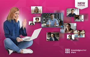 Lernplattform mit integrierten Videokonferenztools