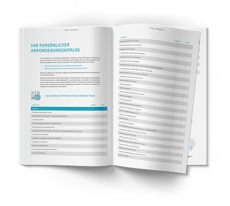 Checkliste Autorensoftware
