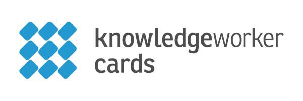 E-Learning Gamification App - Knowledgeworker Cards